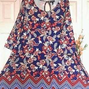 Allison Brittney Plus 1X Dress